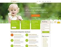 Babysitter Directory WordPress Theme