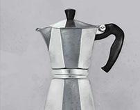 Espresso maker by unikatdesign
