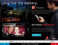 Motorola: Long Live the Battery