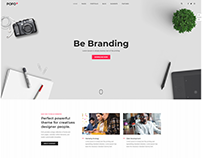 Web Agency - Wordpress Website Template Design