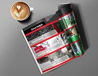 Aldek Yapı Dekorasyon Magazine Free Mock Up