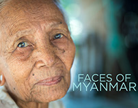 Faces of Myanmar (Burma)