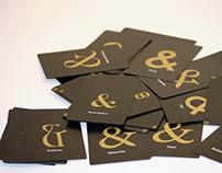 Jeux de carte typographique