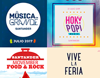 Music Festivals Animations