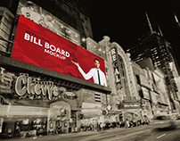 Billboard mock up free psd template