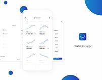 Watchlist app