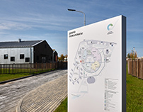 Point of Future School / Wayfinding System