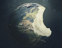 Bitten Globe