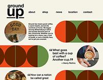 UX: Mockup website and mobile app