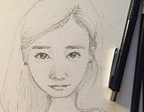 Een aantal schetsen