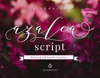 Azalea Script - 701 Glyphs