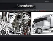 agrotechexpo web design