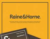 Raine & Horne project marketing brochure