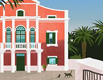 Greetings from Menorca