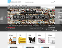 Frances Hunt's New Mobile-Friendly Ecommerce Website