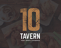 10 Tavern Brand Collateral