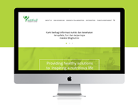 Nutrifood Research Center Web Design
