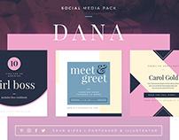 Dana - Social Media Pack