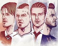 David Beckham @ 40