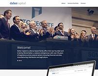 DaherCapital website