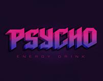 Psycho Energy Drink Logo