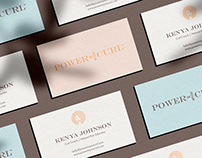 Power In Your Curl — Brand Identity