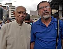 """""""Marcha de los abuelos"""" en Caracas 12 de mayo"""