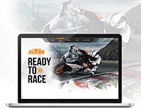 KTM - Concept Web Design