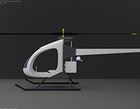 Simple Helicopter – blender3d