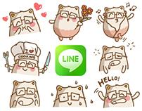 Line Stickers - PisiKo