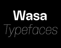 Wasa Variable Typeface