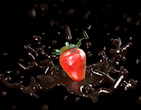 Dark Chocolate & Strawberry
