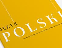 Science journal editorial design: Język Polski