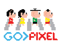 Turma da Mônica Pixel para Tok & Stok