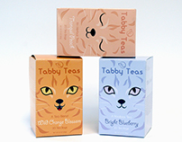 Tabby Teas [Packaging]
