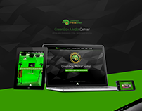 GreenBox Media Center - Web Interface Design