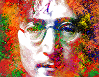 John Lennon, the legendary singer-songwriter