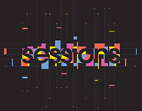 Playgrounds Sessions, title animation