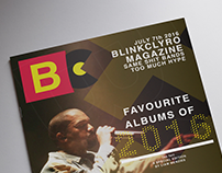 BlinkClyro Magazine Concept- (Cover and Double Spread)