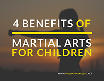 4 Benefits of Martial Arts for Children