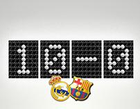Can Castellet Cinema . Madrid vs FC Barcelona live]