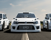 Evolve Motorsport cars