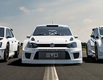 Evolve Motorsport cars