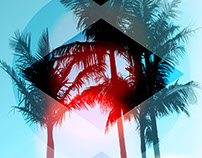 Neo Landscapes - Graphic Design Posters