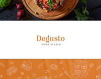 Degusto : logo design and branding