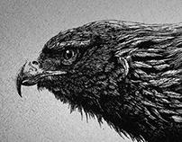 GLITCHED EAGLE