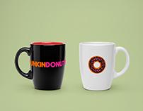 Dunkin Donuts Rebranding
