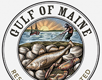 Gulf of Maine Research Institute Logo by Steven Noble