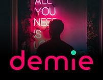 Dating service Denim. Redesign.