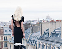 On the roof top of paris